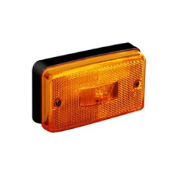 Lanterna Lateral Carreta Randon Moderna Amarela - Sermi