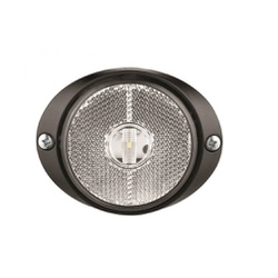 Lanterna LED Lateral Carreta Cristal (66mm C/ Chic... - Sermi