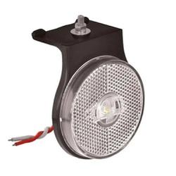 Lanterna LED Lateral Carreta Cristal C/ Suporte (6... - Sermi