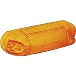 Lente Lanterna Dianteira Parachoque Amarela - Sermi