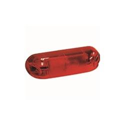 Lente Lanterna Dianteira Parachoque Vermelha - Sermi