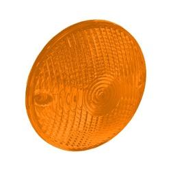 Lente Lanterna Traseira Foguinho Amarela - Sermi