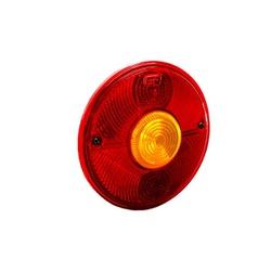 Lente Lanterna Traseira MB1113 Redonda - Sermi