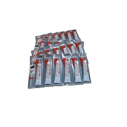 Caixa 24-Colas Silicone Alta Temperatura Cinza 50g - Sermi