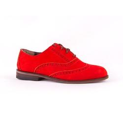 Sapato Oxford Vermelho - 18001 - SERRA BELLA CALCADOS