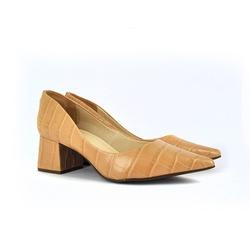 Sapato Nude Cobra - 4170-01 - SERRA BELLA CALCADOS