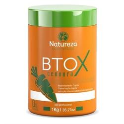 Natureza Cosméticos Btox de Cenoura Sem Formol - 1kg - Shop da Beleza