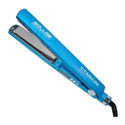 Prancha Salles Pro Titanium 460°F Azul Sky 32mm - Bivolt - Shop da Beleza