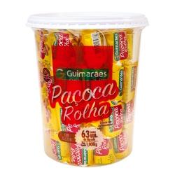 Paçoca Rolha Pote 1.008kg - GUIMARÃES