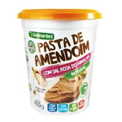Pasta de Amendoim com Sal Rosa do Himalaia Integral 450g - GUIMARÃES