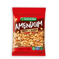 Amendoim Torrado Salgado 125g - GUIMARÃES