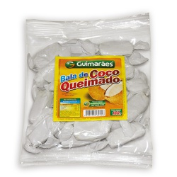Bala de Coco Queimado 160g - GUIMARÃES