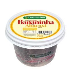 Bananinha Cristalizada Abacaxi 200g - GUIMARÃES
