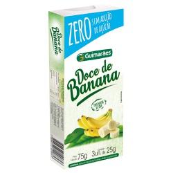 Doce de Banana ZERO 75g - GUIMARÃES