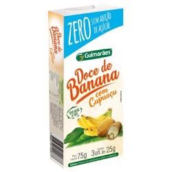 Doce de Banana C/Cupuaçú ZERO 75g - GUIMARÃES