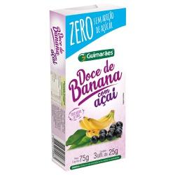 Doce de Banana C/Açaí ZERO 75g - GUIMARÃES