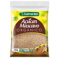 Açúcar Mascavo Orgânico 300g - GUIMARÃES