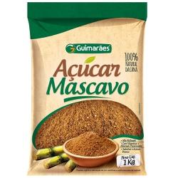 Açúcar Mascavo 1kg - GUIMARÃES