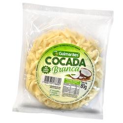 Cocada Branca Redonda 80g - GUIMARÃES