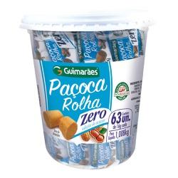 Paçoca Rolha Zero Açúcar 1.008kg - GUIMARÃES