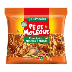 Pé de Moleque com Açúcar Mascavo 300g - GUIMARÃES
