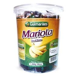 Mariola da Banana Pote 1.260g C/35un - GUIMARÃES