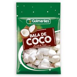 Bala de Coco 100g - GUIMARÃES