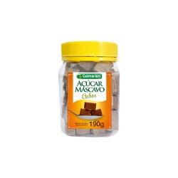 Açúcar Mascavo Cubos 190g - GUIMARÃES