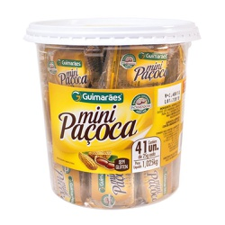 Mini Paçoca Pote 1.025g - GUIMARÃES