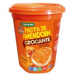 Pasta de Amendoim Crocante 450g - GUIMARÃES