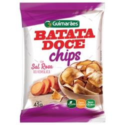 Chips Batata Doce 45g - GUIMARÃES