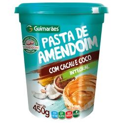 Pasta de Amendoim com Cacau e Coco 450g - GUIMARÃES