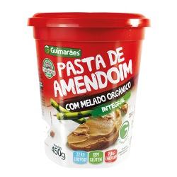 Pasta de Amendoim Com Melado Organico 450g - GUIMARÃES