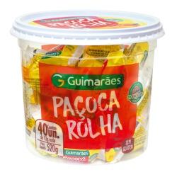 Paçoca Rolha Pote 520g - GUIMARÃES