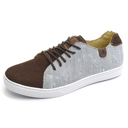 Casual Masculino Shoes Grand 1150/1 Jeans Terra - ... - SOCALCADOS
