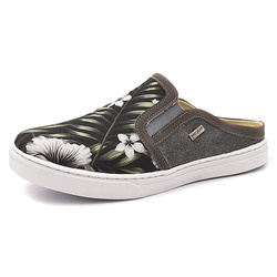 Mule Masculino Shoes Grand 165/3 Floral Hibisco - ... - SOCALCADOS
