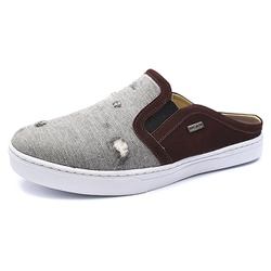 Mule Masculino Shoes Grand 165/7 Jeans Cinza - SG-... - SOCALCADOS