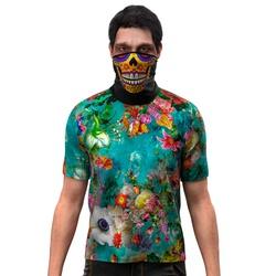 Camiseta Camisa Floral Tye Die Swag Blusa 0001 - S... - Stamp for All