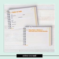 Diário do Bebê - 76FA44 - Studio Office K