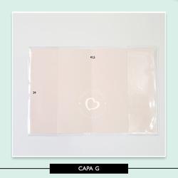Capa Plástica - Álbum G - 71720E - Studio Office K