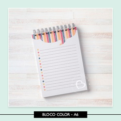 Miolo para bloquinho - Color - 7111A5 - Studio Office K