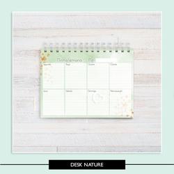 Desk Planner - Nature - 7DE059 - Studio Office K