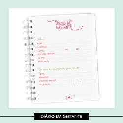 Diário da Gestante - 75BD4E - Studio Office K