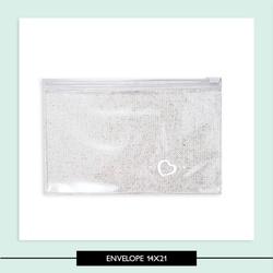 Envelope com Ziper 14x21 - 644AFA - Studio Office K