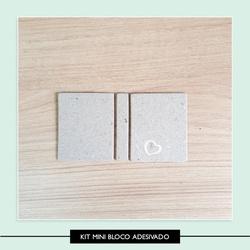 Kit para Mini Bloco Adesivado - MBA014 - Studio Office K