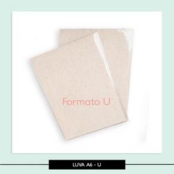 Luva Plastica - A6 - Bloquinho U - 4D7589 - Studio Office K