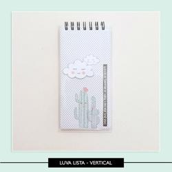 Luva Plástica Vertical - Lista Tarefas PAR - 6E3AF... - Studio Office K