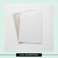 Luva Plástica Universitário - 28 5 x 20 5 cm - 64E... - Studio Office K