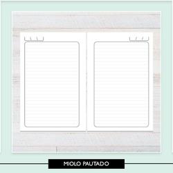 Miolo para Caderno Pautado - 3FF812 - Studio Office K