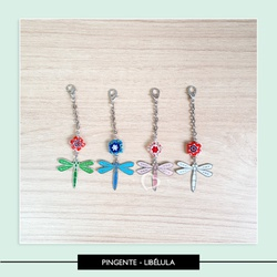 Pingente Líbelula - PL25OM4 - Studio Office K